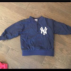 Boys Yankees windbreaker